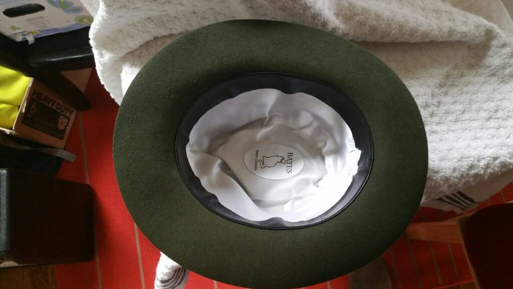 Fedora from Bates hats of London size 60  4213a1cfc22