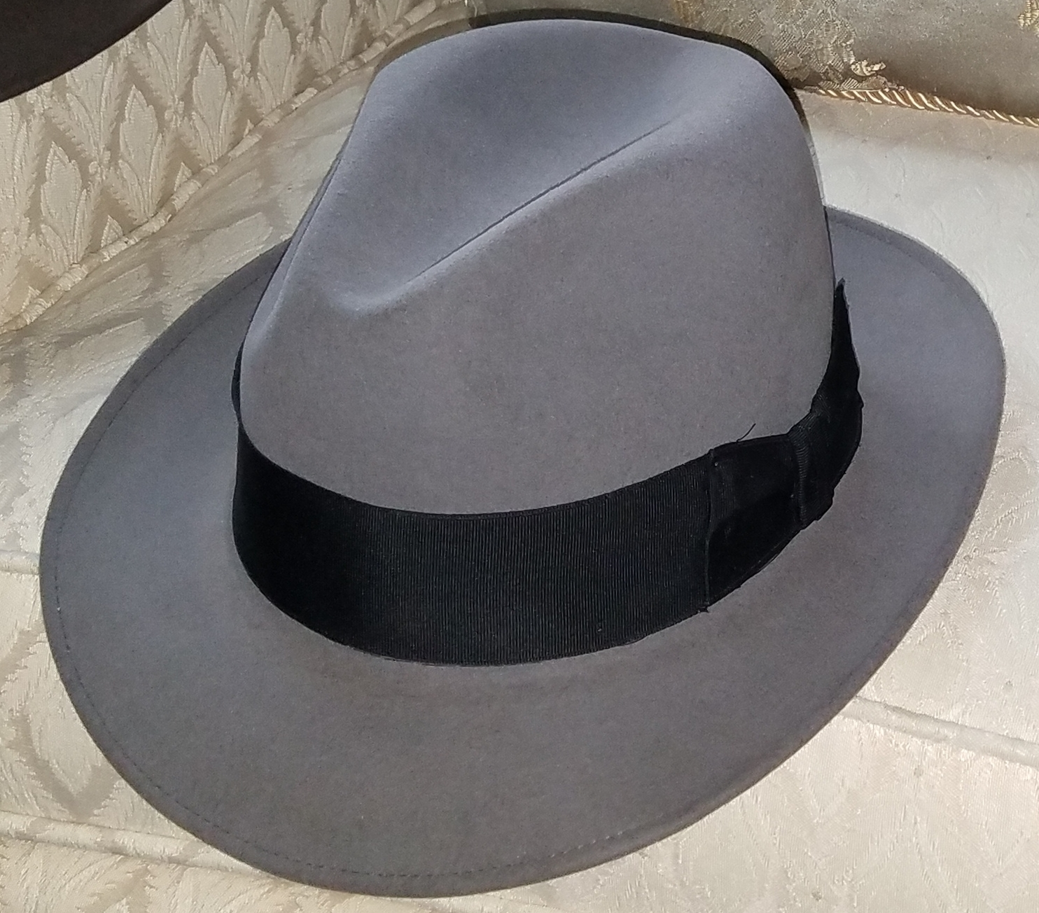 3 Like-New Stetson Saxon Fedoras - 7 1 4 (gray ab804cebd950