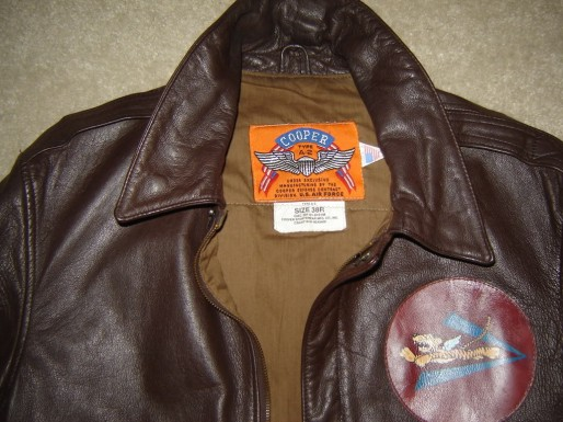 Flying Tigers A2 Leather Jacket Cooper Willabee Ward
