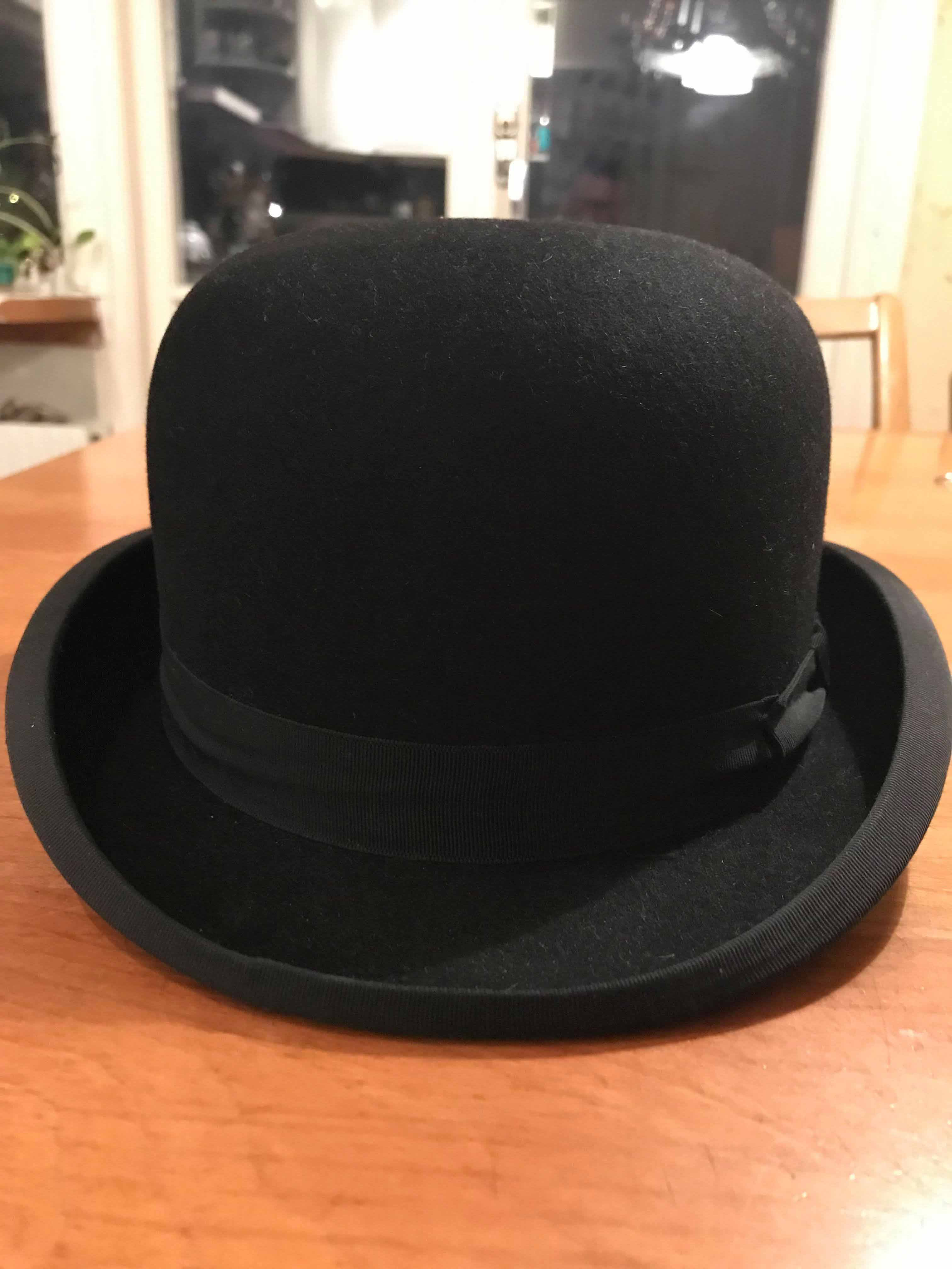 52c2c038016c8 The Bowler or Derby Hat