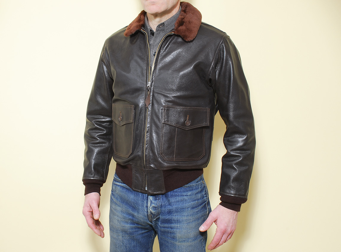 Eastman Leather Clothing USN G-1 intermediate Flying Jacket, spec ...