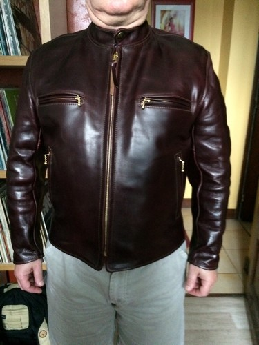 Aero Leather Cafe Racer Perfect Condition For Exchange Page 2