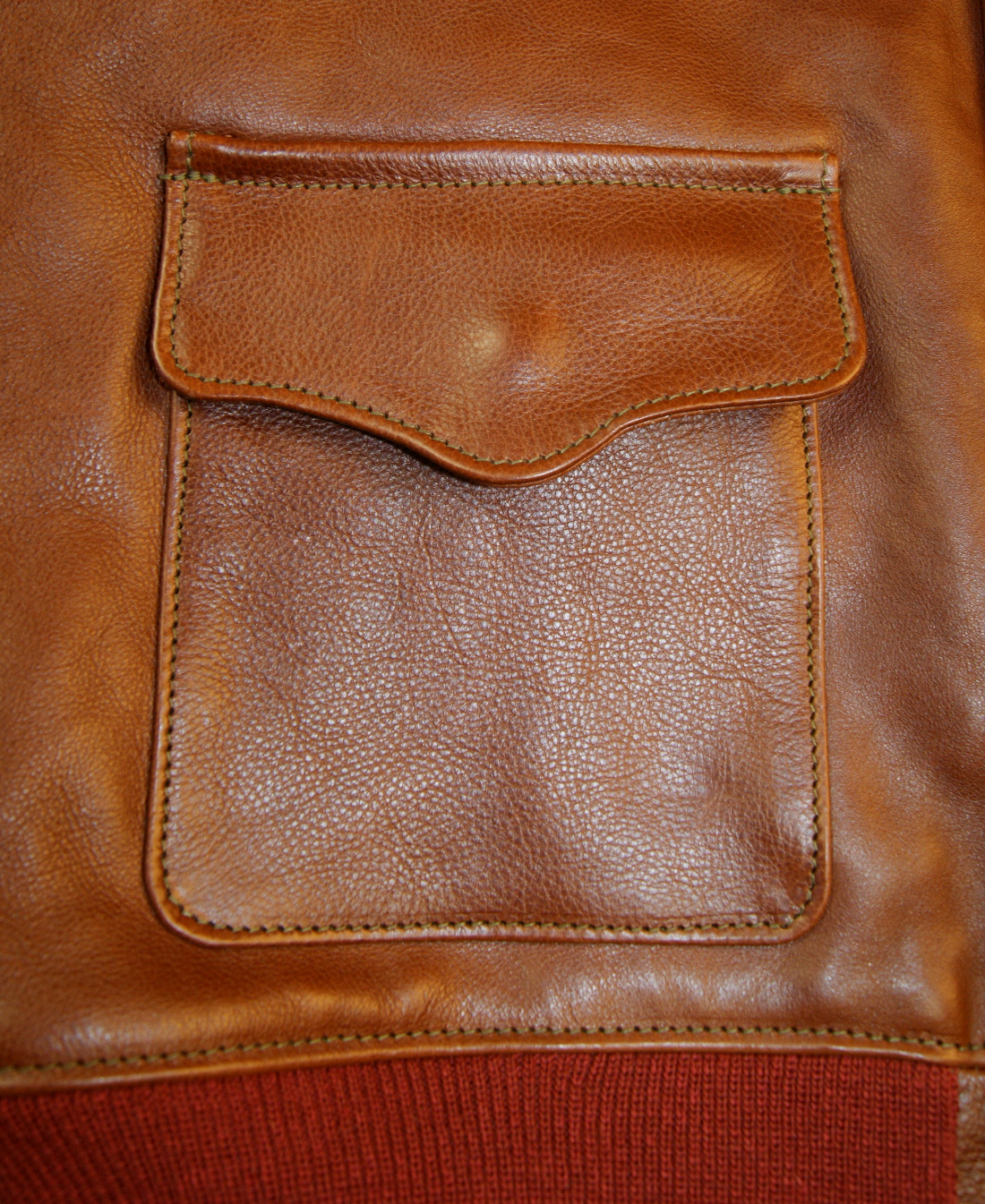 Aero 38-1711 A-2 Russet Vicenza Horsehide patch pocket.jpg