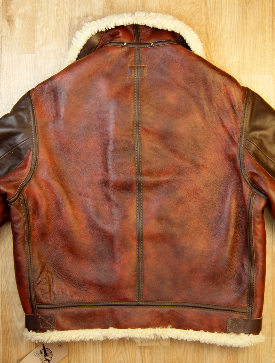 Aero B-3 Redskin 15mm thinner shearling back.jpg