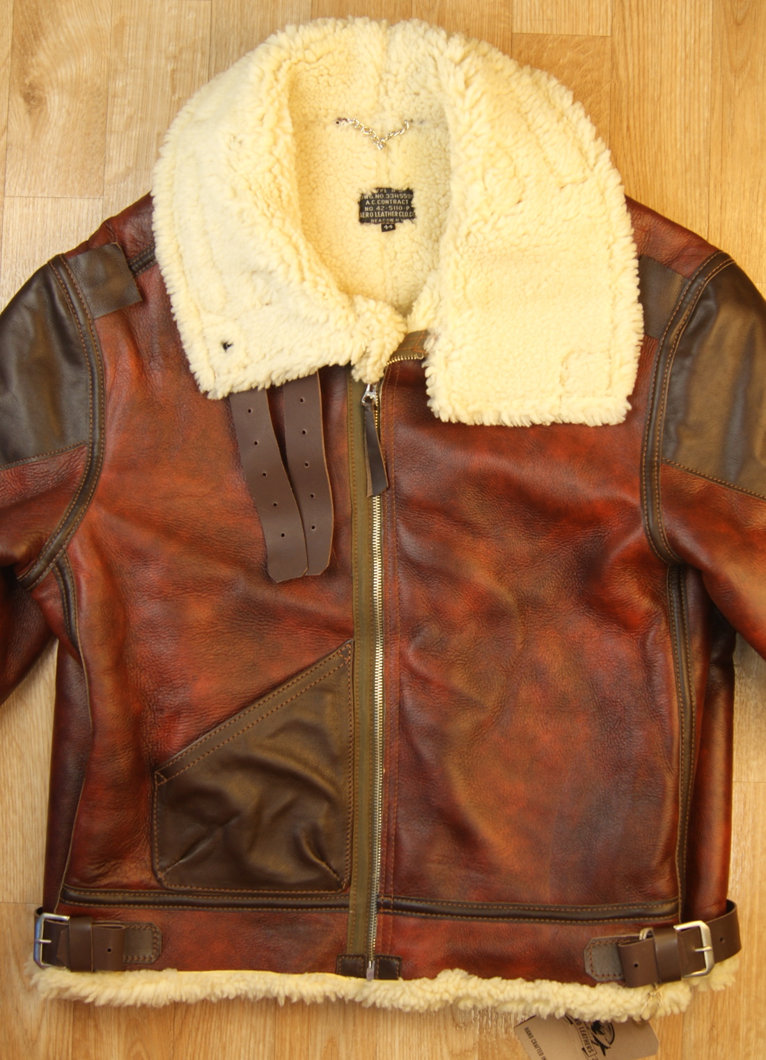 Aero B-3 Redskin 15mm thinner shearling front.jpg