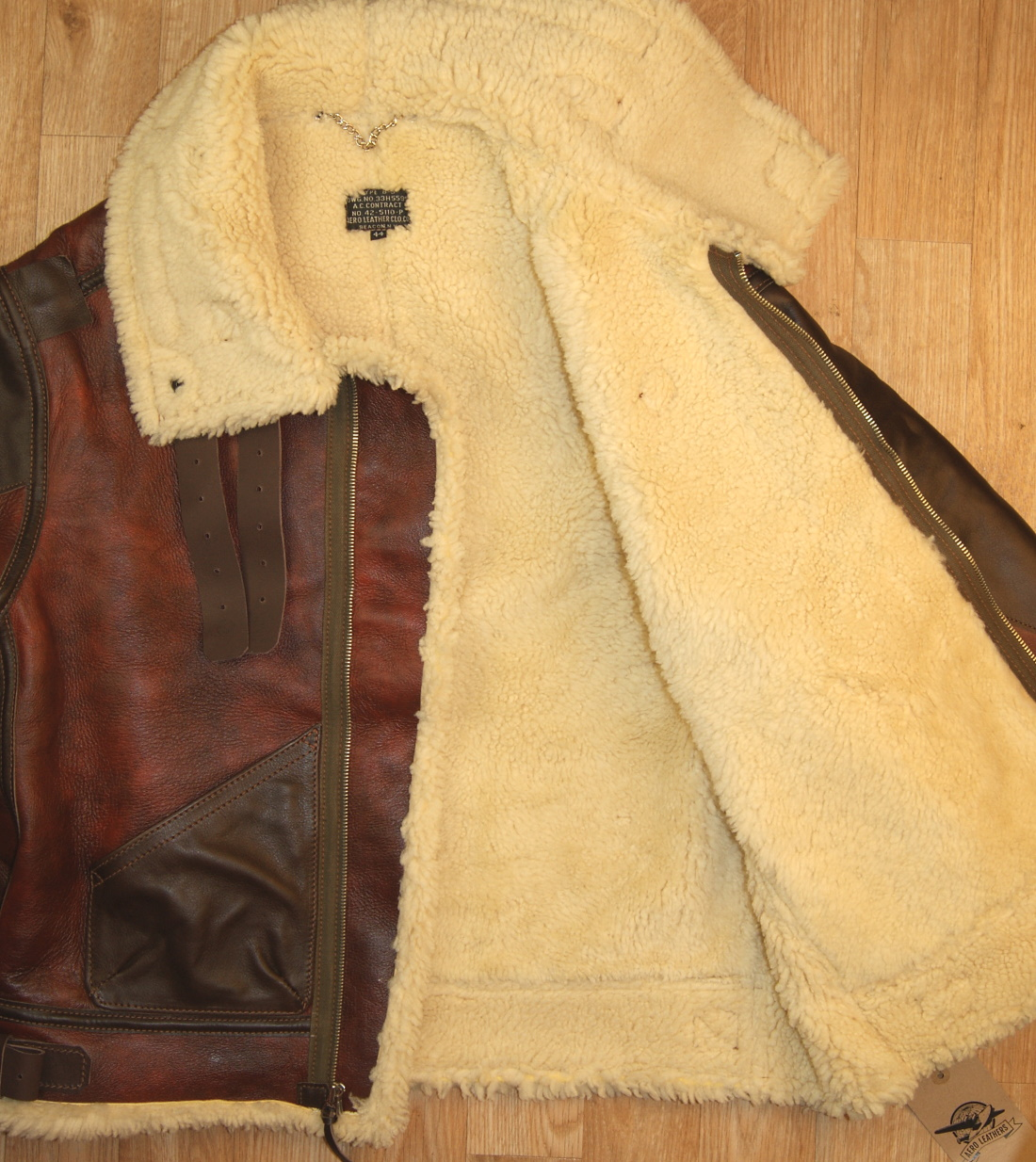 Aero B-3 Redskin 15mm thinner shearling open.jpg