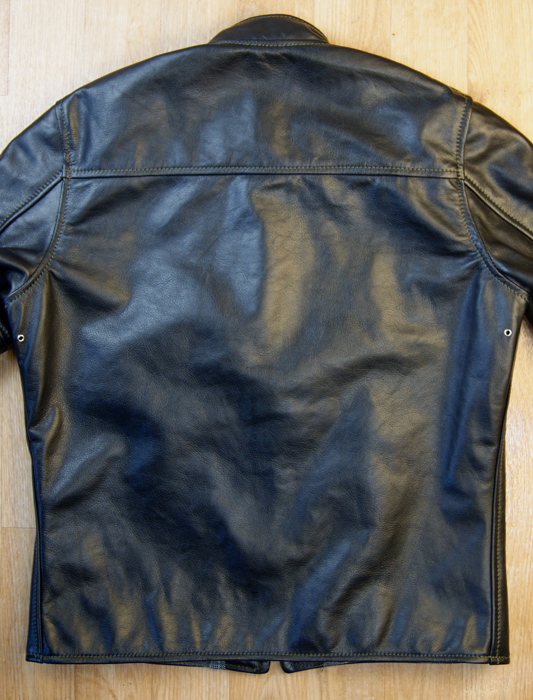 Aero Board Racer Blackened Brown Vicenza Horsehide S9B back.jpg