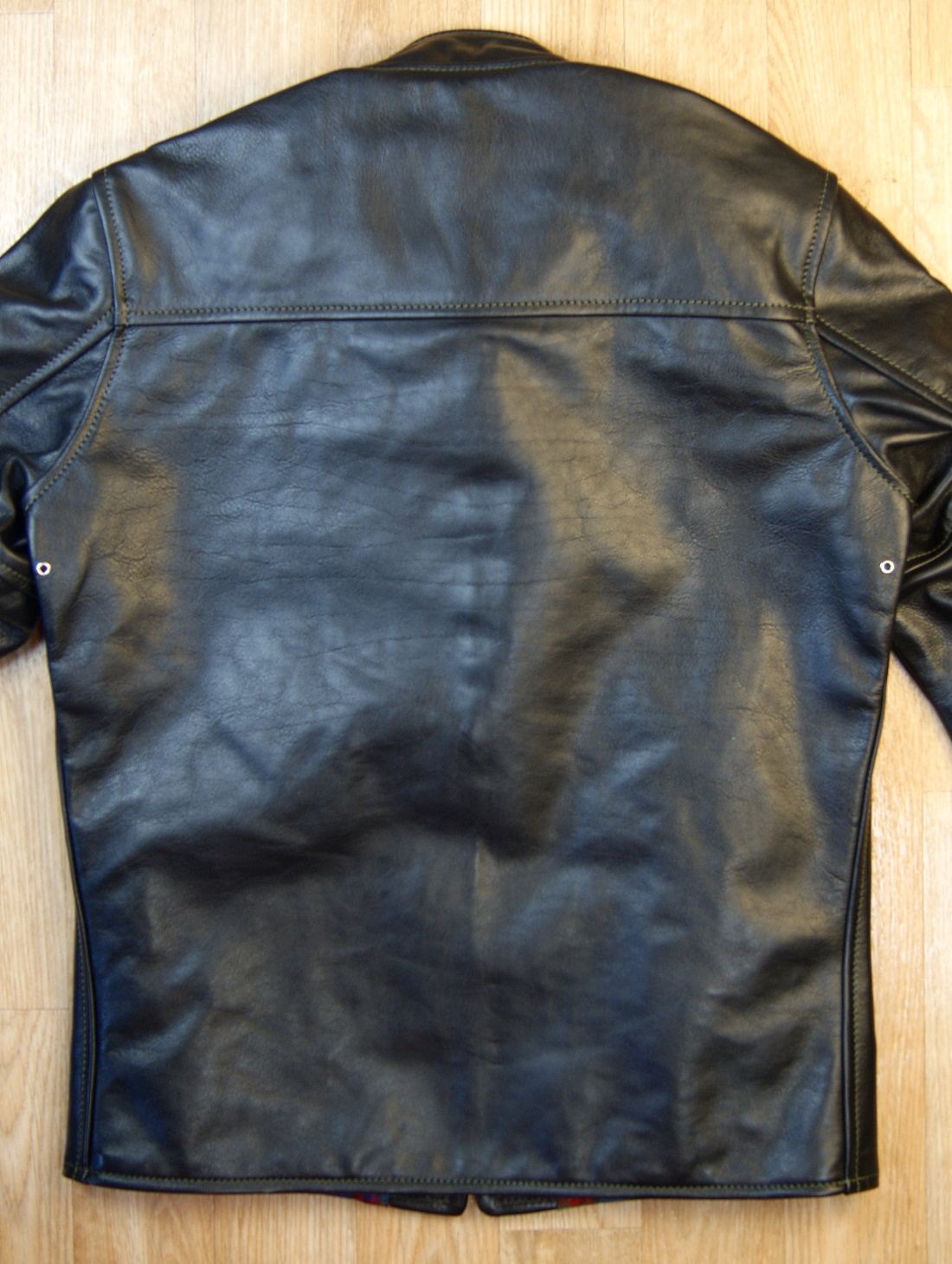 Aero Board Racer Blackened Brown Vicenza Horsehide ZSL back.jpg