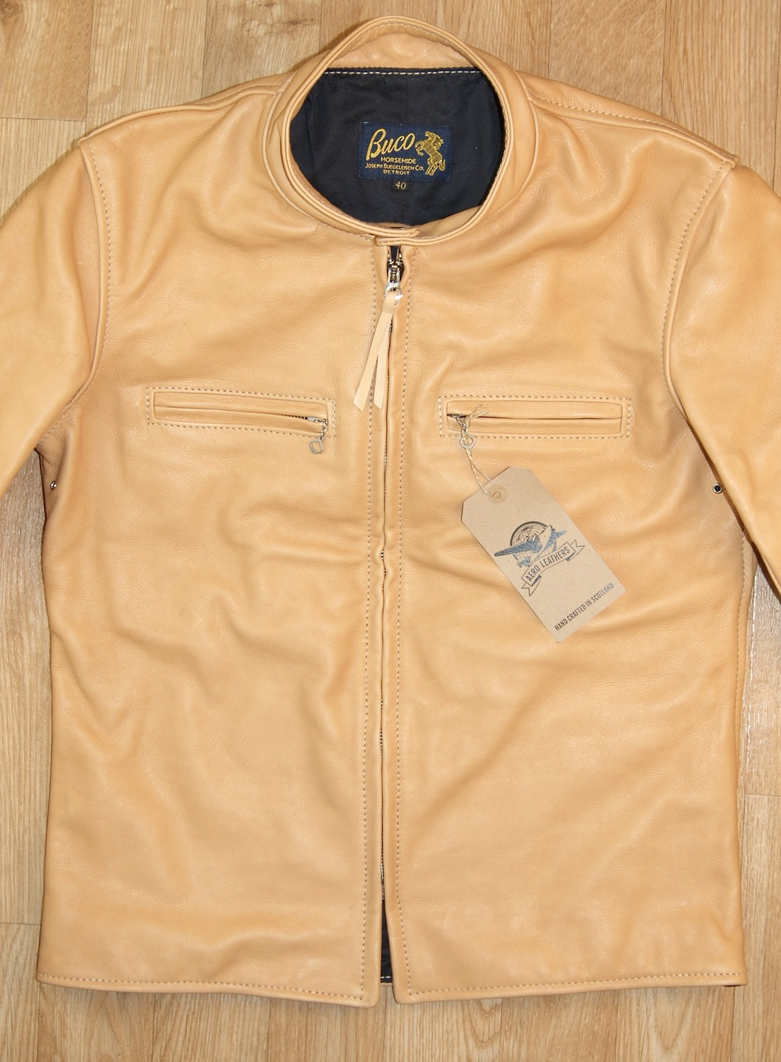 Aero Board Racer Natural Vicenza Horsehide PDE front.jpg