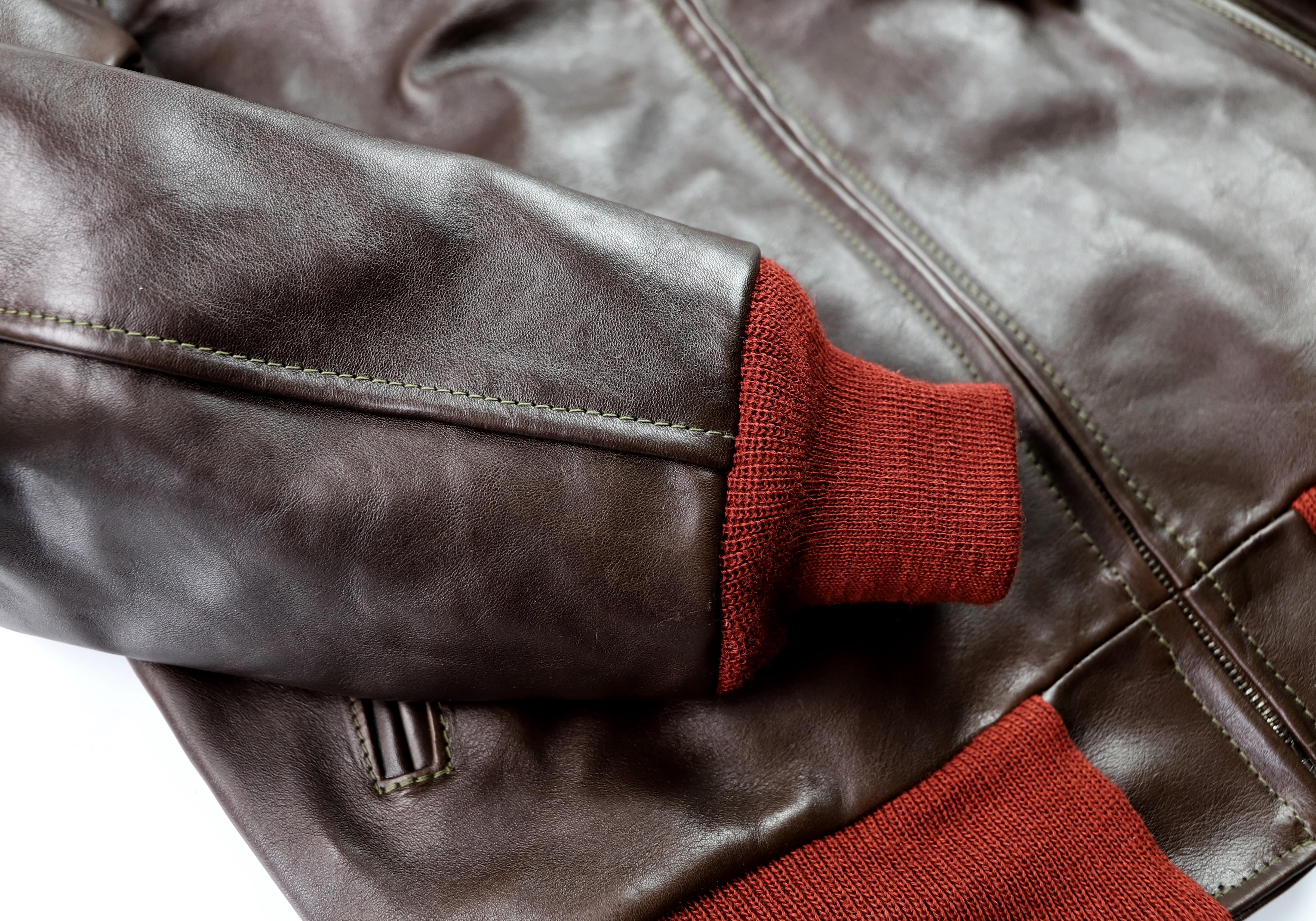 Aero Happy Days Dark Seal Vicenza Rust Knits KI3 knit cuff.jpg