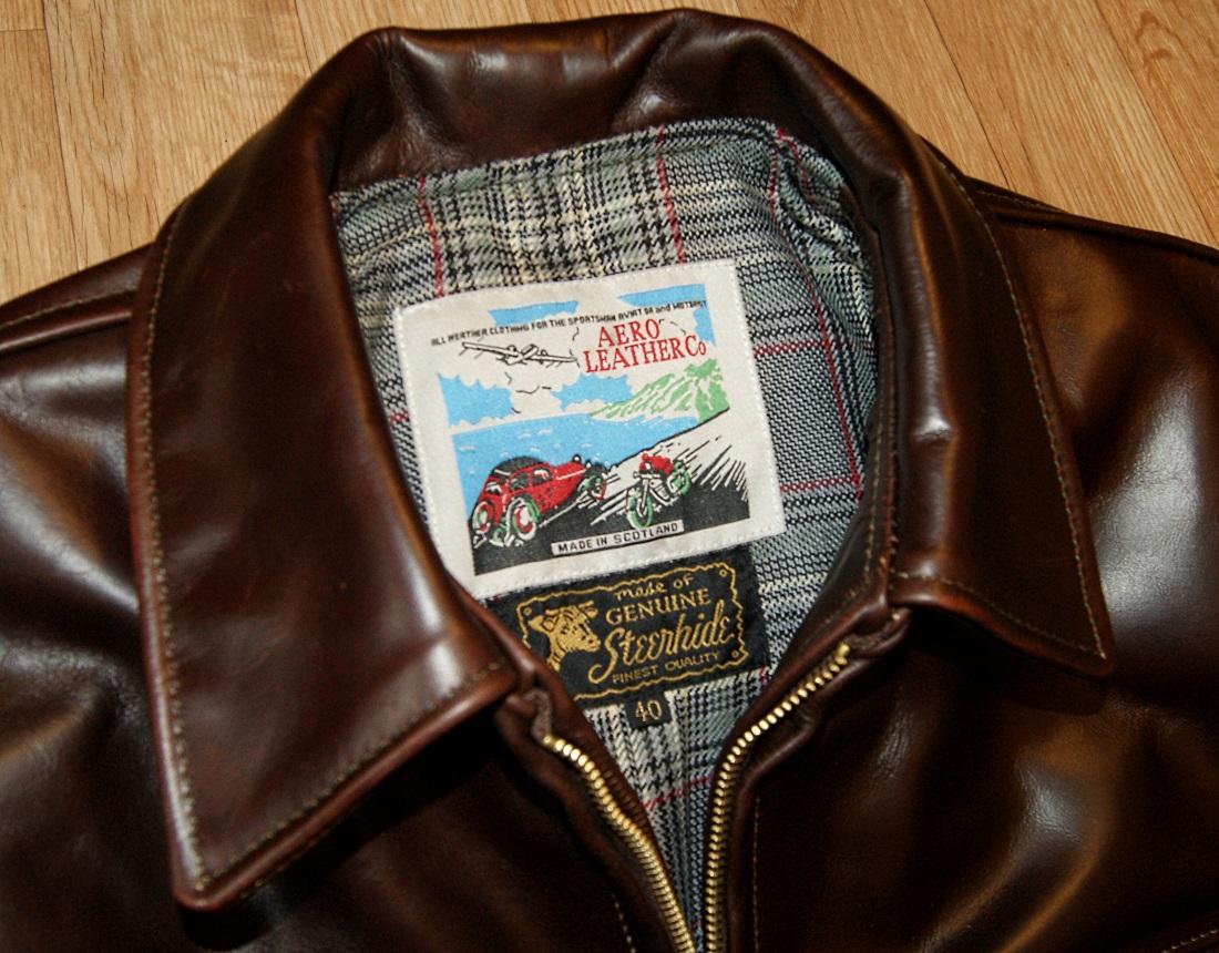 Aero Highwayman Brown CXL Steerhide S4 tag.jpg