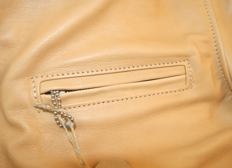 Aero Highwayman Natural Vicenza Horsehide chest pocket.jpg
