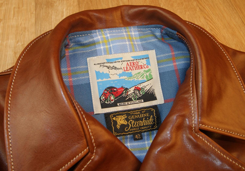 Aero Hooch Hauler Russet Badalassi Cowhide tag.jpg