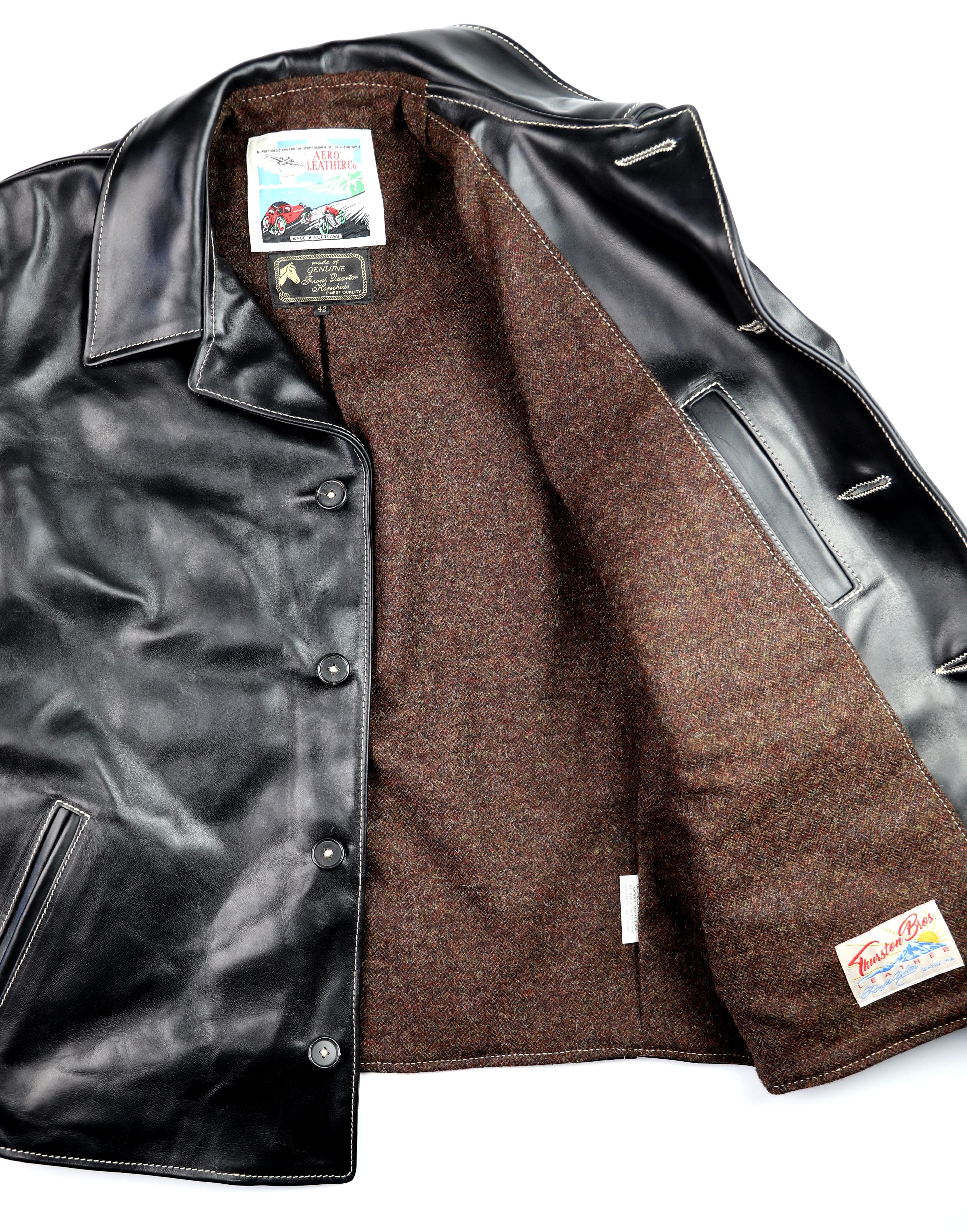 Aero Maxwell Black CXL FQHH AB5 Brown Herringbone Tweed lining.jpg