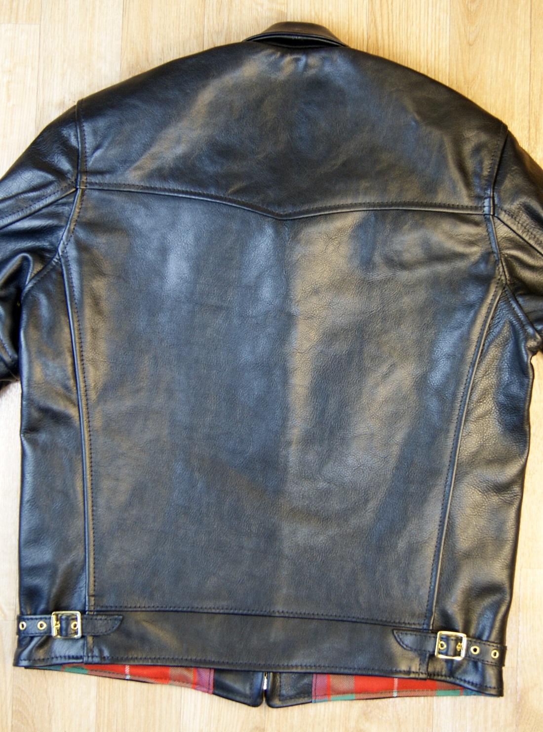 Aero Premier Highwayman Black Vicenza Horsehide CC6 back.jpg