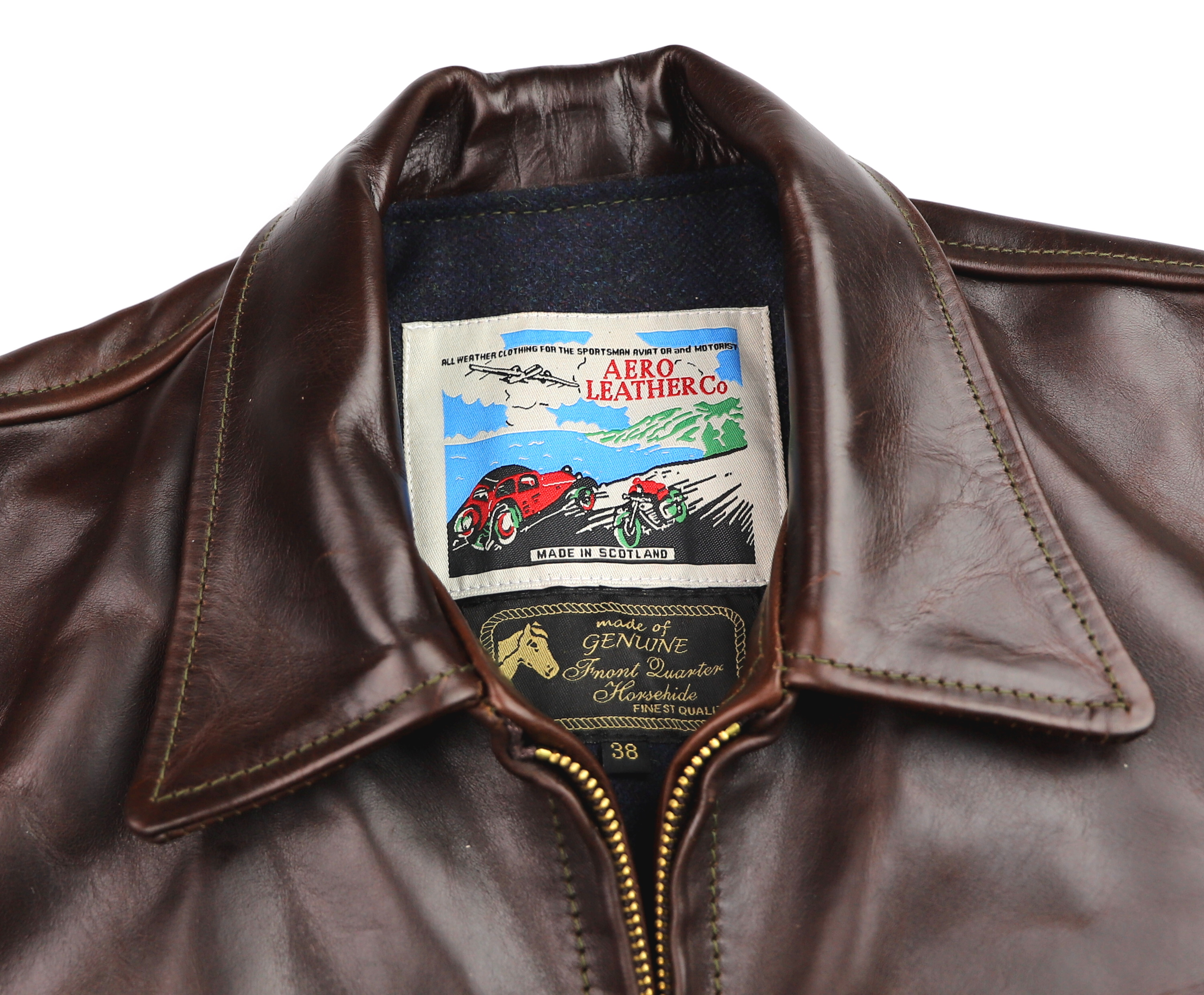 Aero Premier Highwayman Brown CXL FQHH XL2 tag.jpg