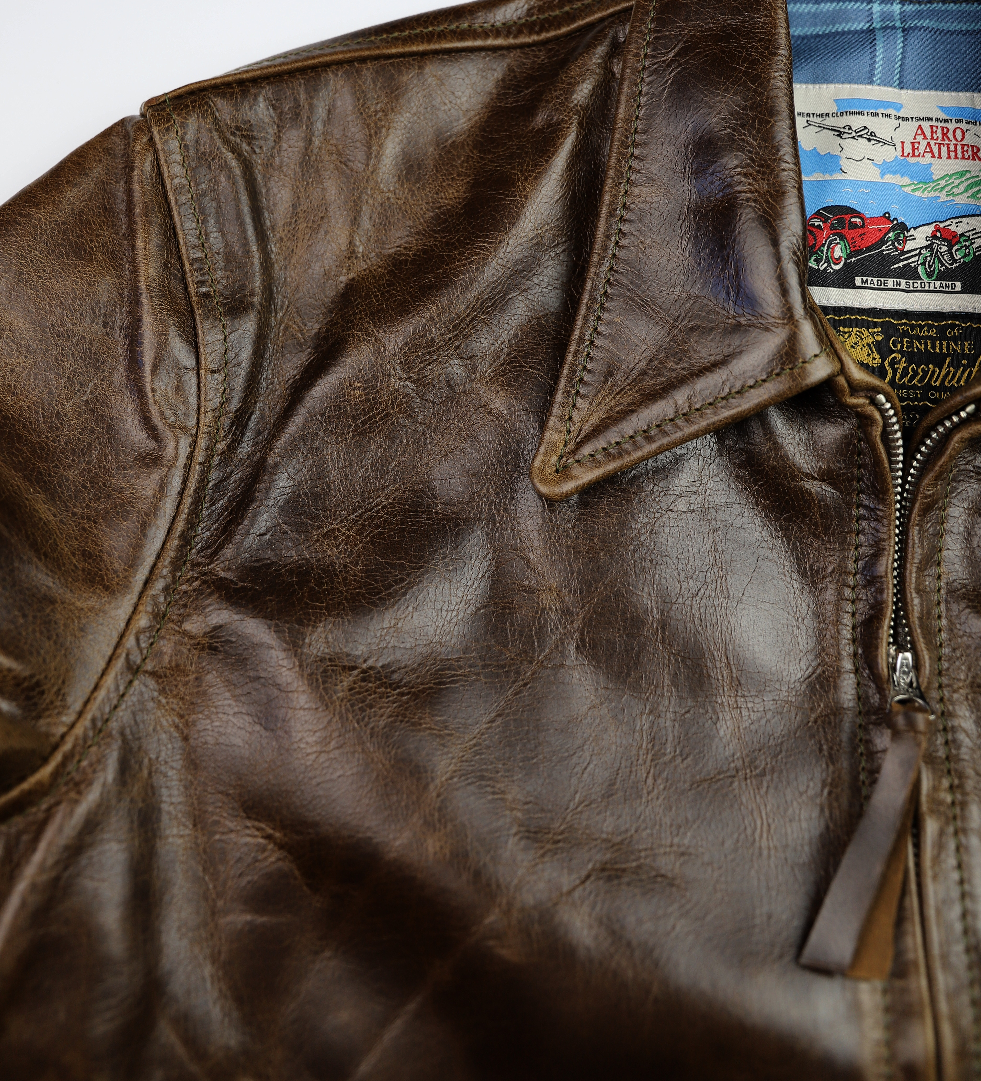 Aero Premier Highwayman Dark Maple Bainbridge TL7 chest grain.jpg