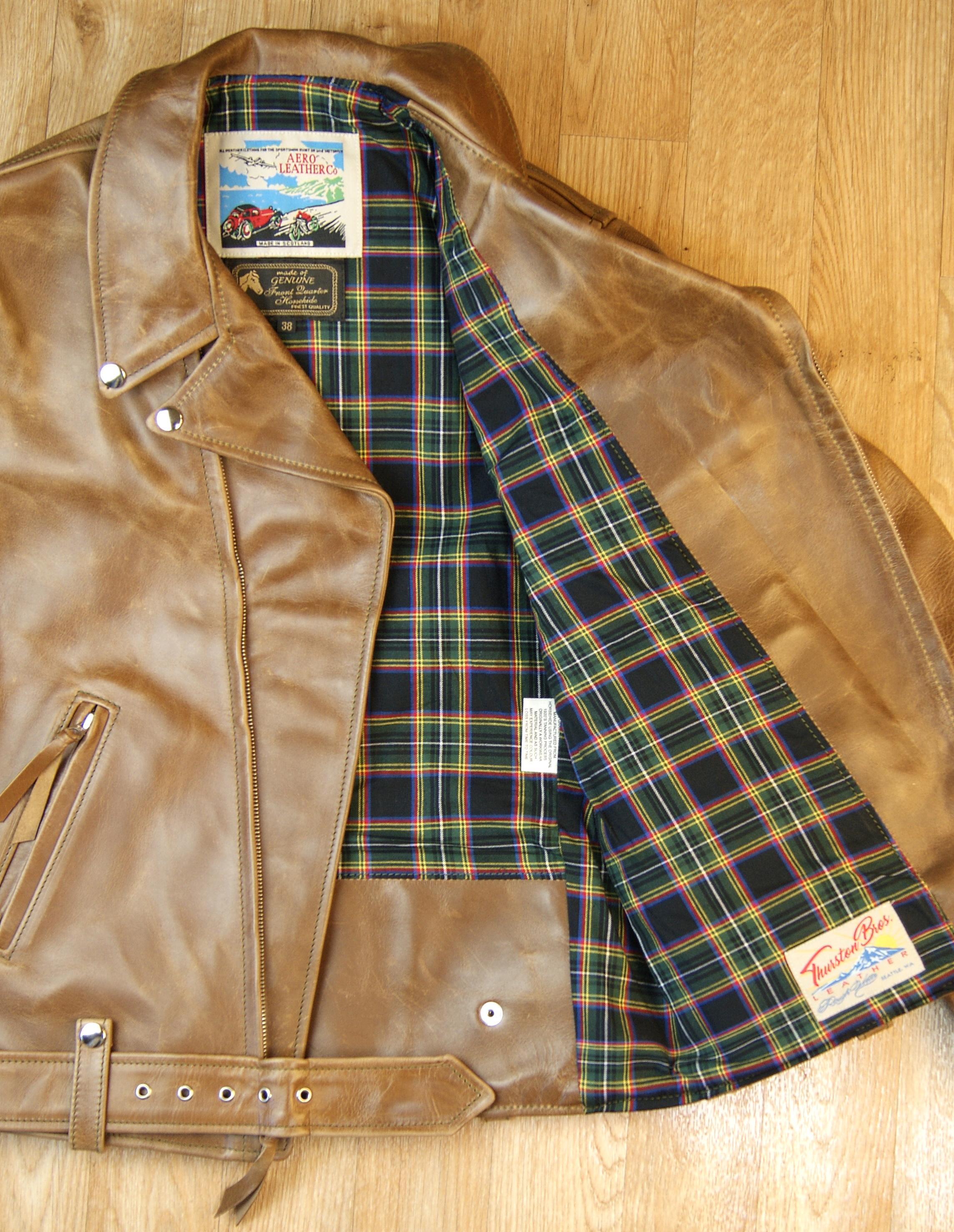 Aero Ridley Natural CXL FQHH K9D Lanark cotton tartan lining.jpg