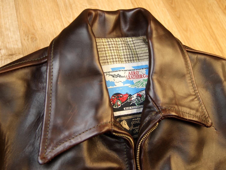 Aero Sea Biscuit Brown CXL FQHH collar.jpg