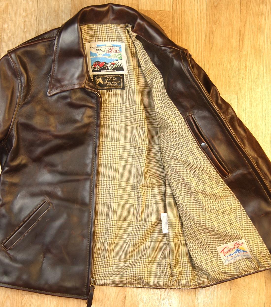 Aero Sea Biscuit Brown CXL FQHH Crail Check Tweed lining.jpg