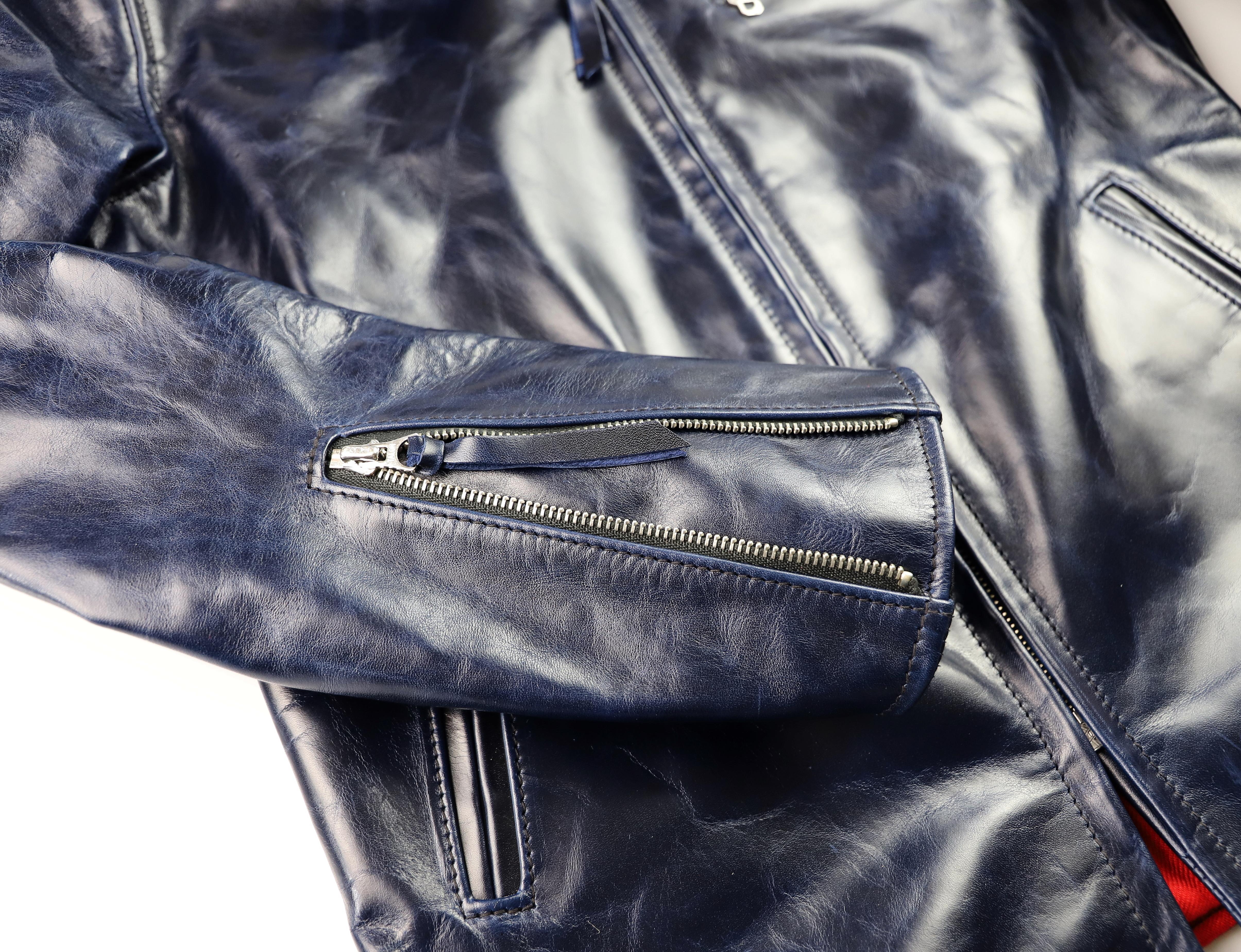 Aero Seven Abyss Blue Bainbridge sleeve zipper.jpg