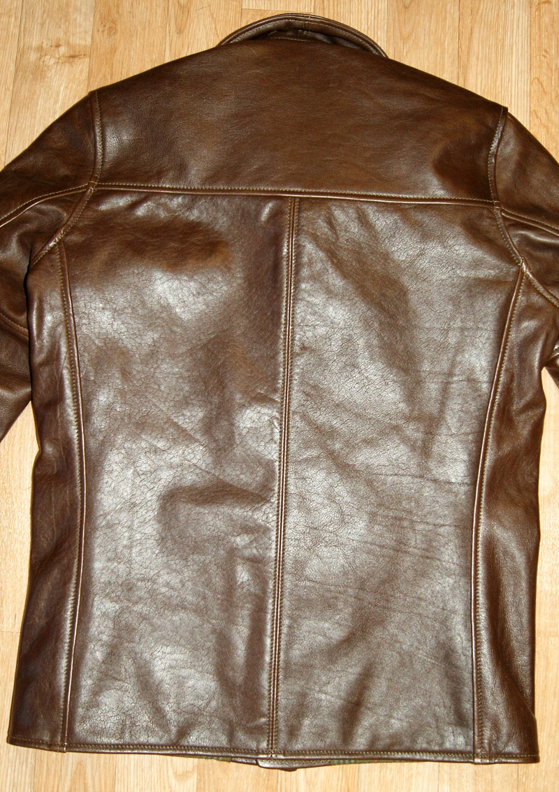 Aero Stockman Seal Vicenza Horsehide size 34 back.jpg