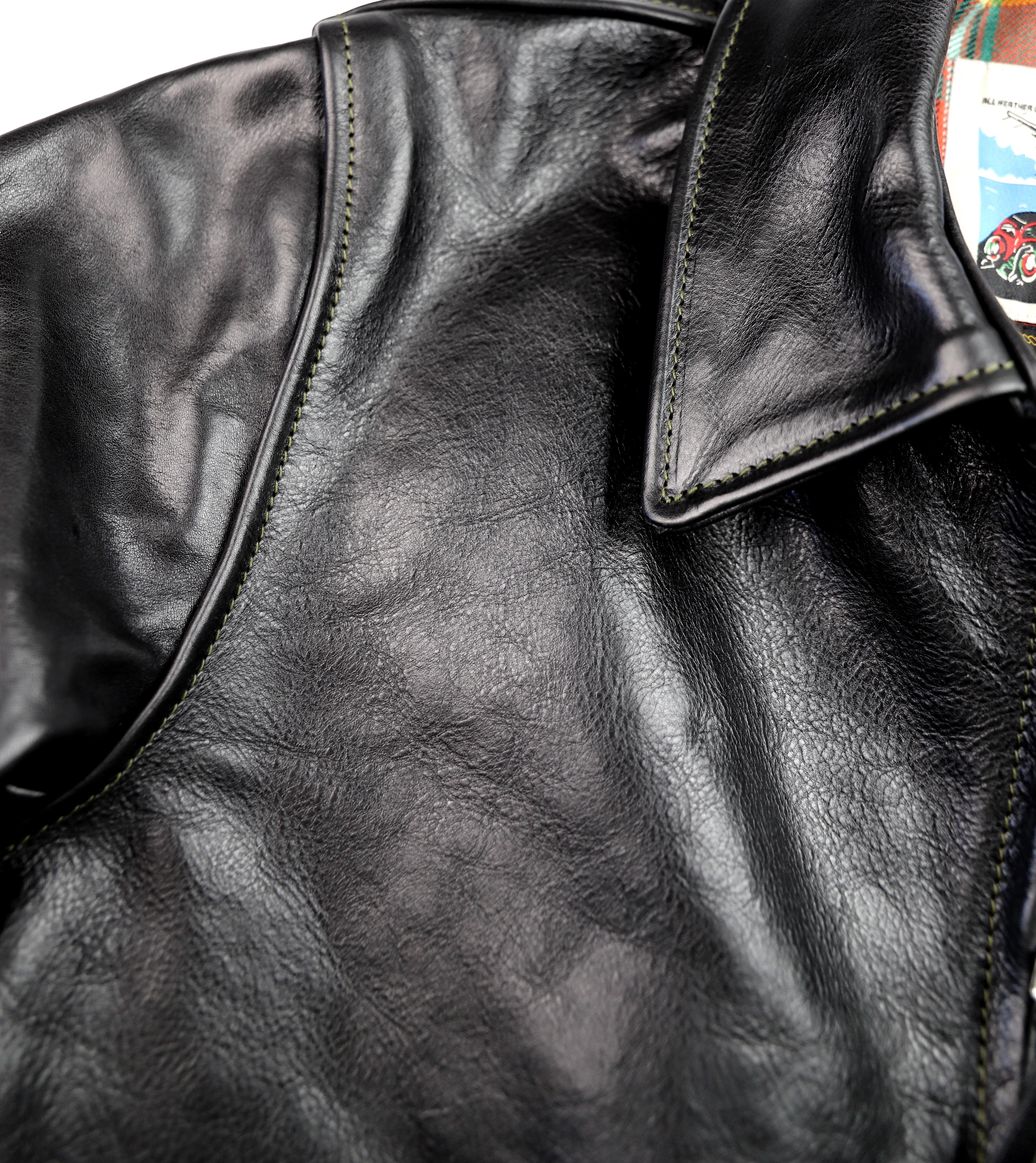 Aero Sunburst Black Badalassi Cowhide shoulder grain.jpg