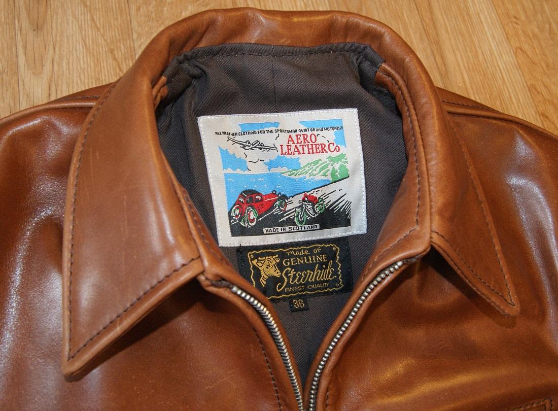 Aero Sunburst Red Fox Cowhide tag.jpg