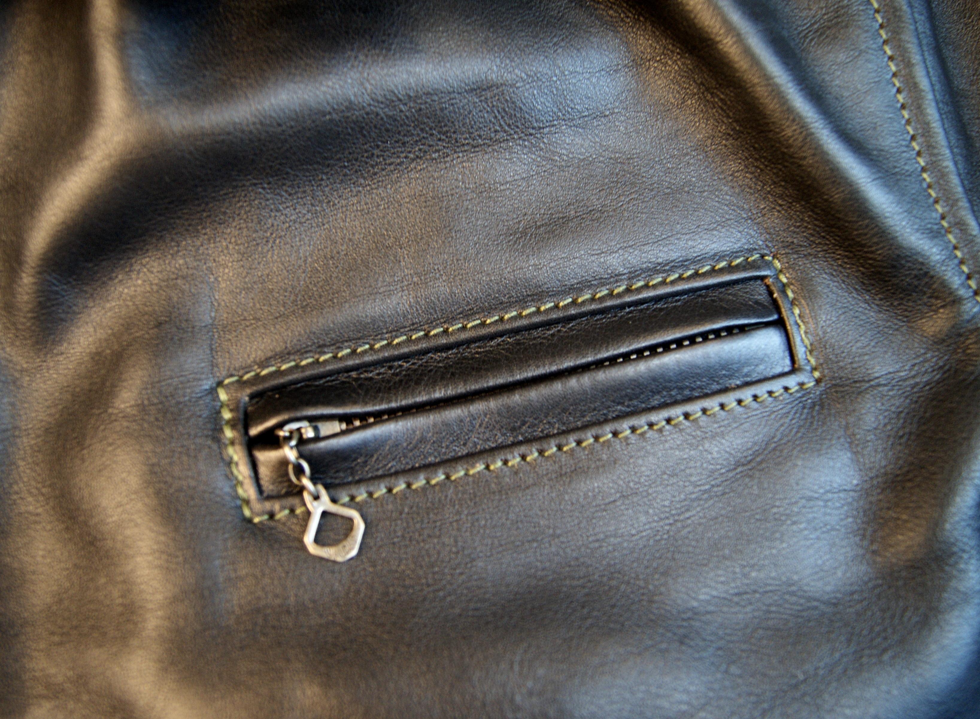 Aero Thunderbay Blackened Brown Vicenza chest pocket.jpg