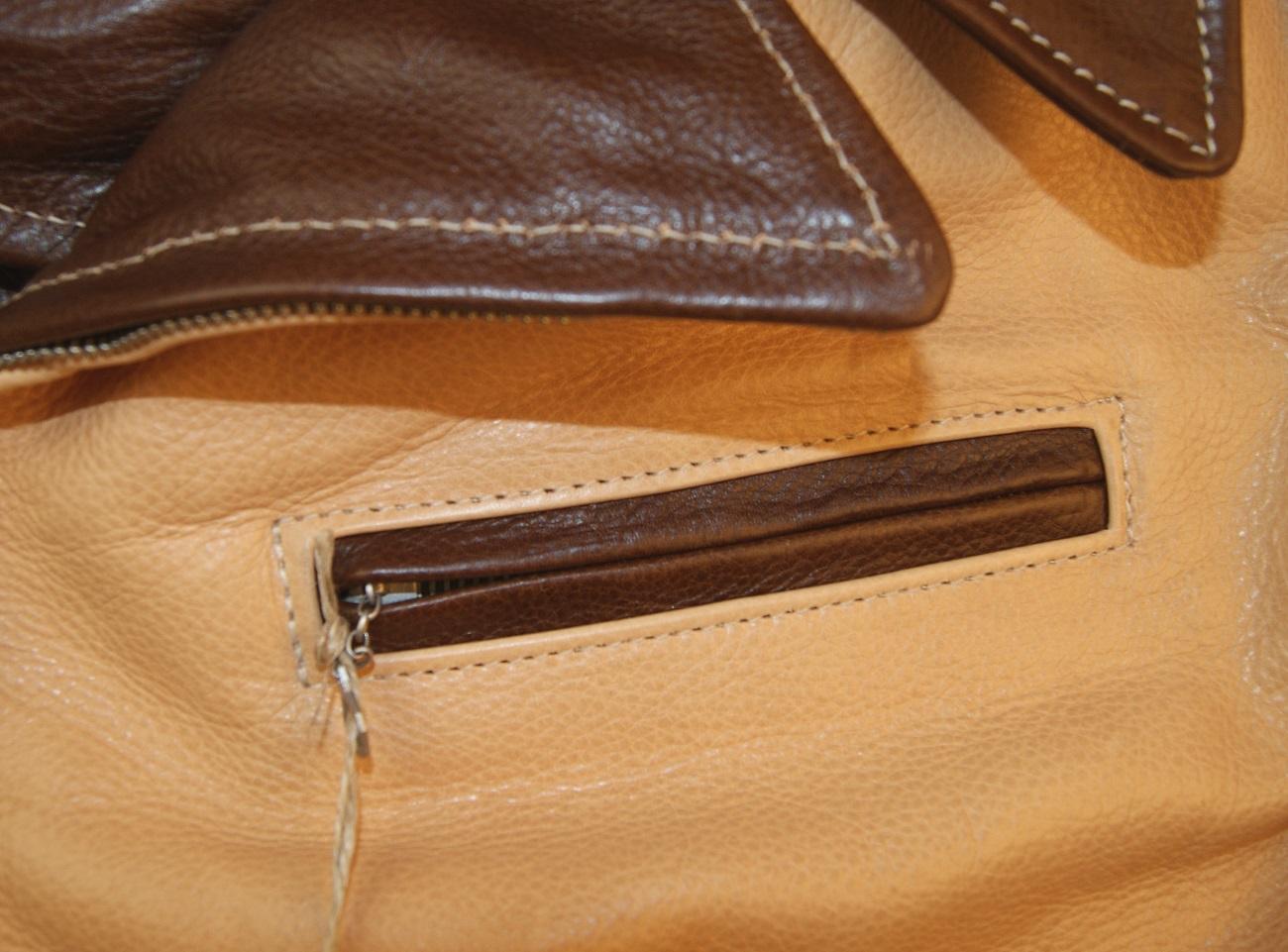 Aero Two-Tone Hooch Hauler Russet Natural Vicenza chest pocket.jpg