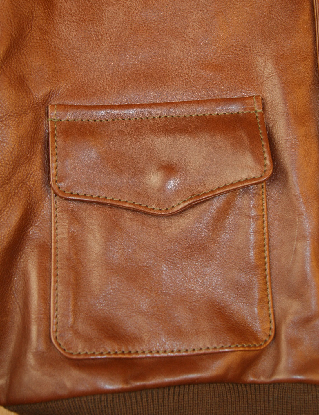 Aero Unknown Maker Russet Vicenza Horsehide KM7 patch pocket.jpg
