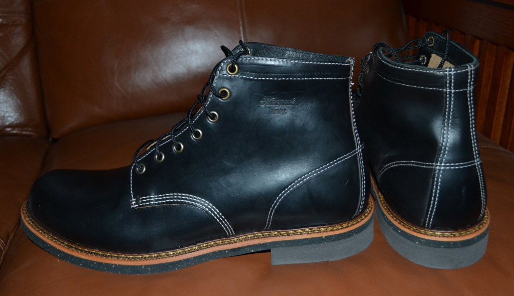 925a8bc966c FS:NEW Thorogood Beloit mens boots horween leather size 12.5 D black ...