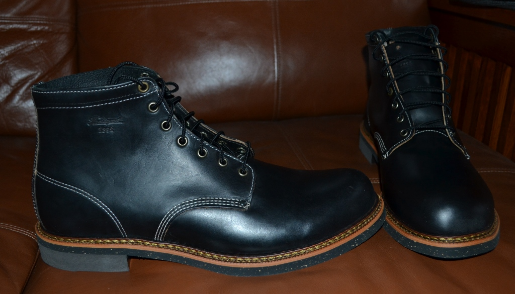 Fs New Thorogood Beloit Mens Boots Horween Leather Size 12