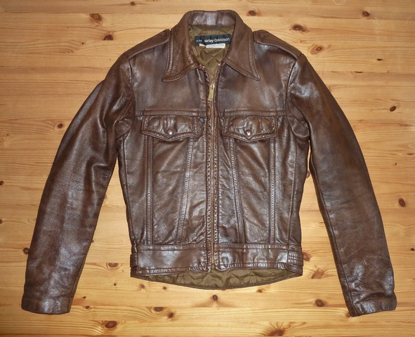 Davidson F Size Jacket AMF Leather 34 S Harley Vintage 1960s wrZxXq1r