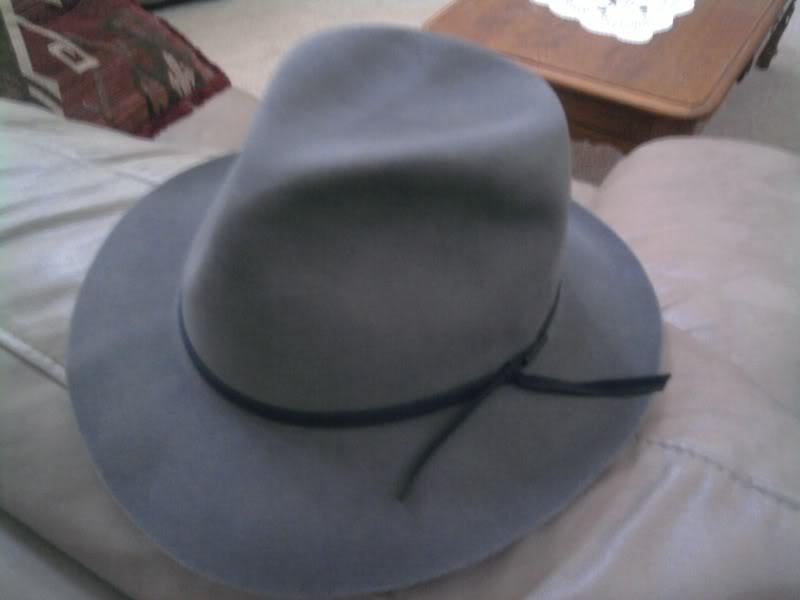 Stetson Pinnacle Beaver Fur Felt Fedora Hat  aa7f802daf8