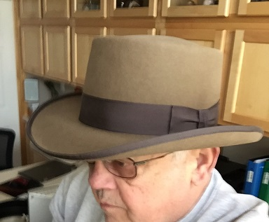 I wasn t wearing Hat-Stetson Rev-Gambler Tawny.jpg 67869a32247