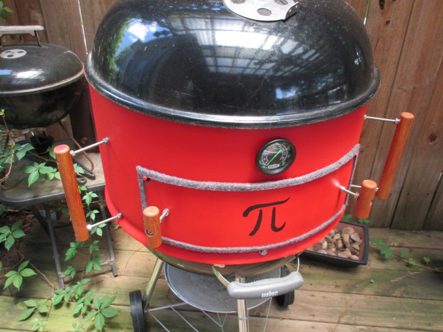 Pizza Oven Hack For Weber Kettle The