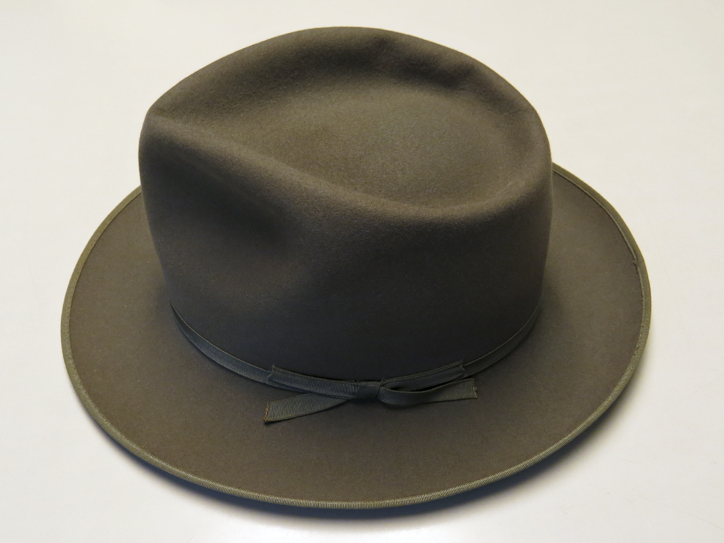 1b4c81075 Vintage Stetson Stratoliner in Olive Brown | The Fedora Lounge