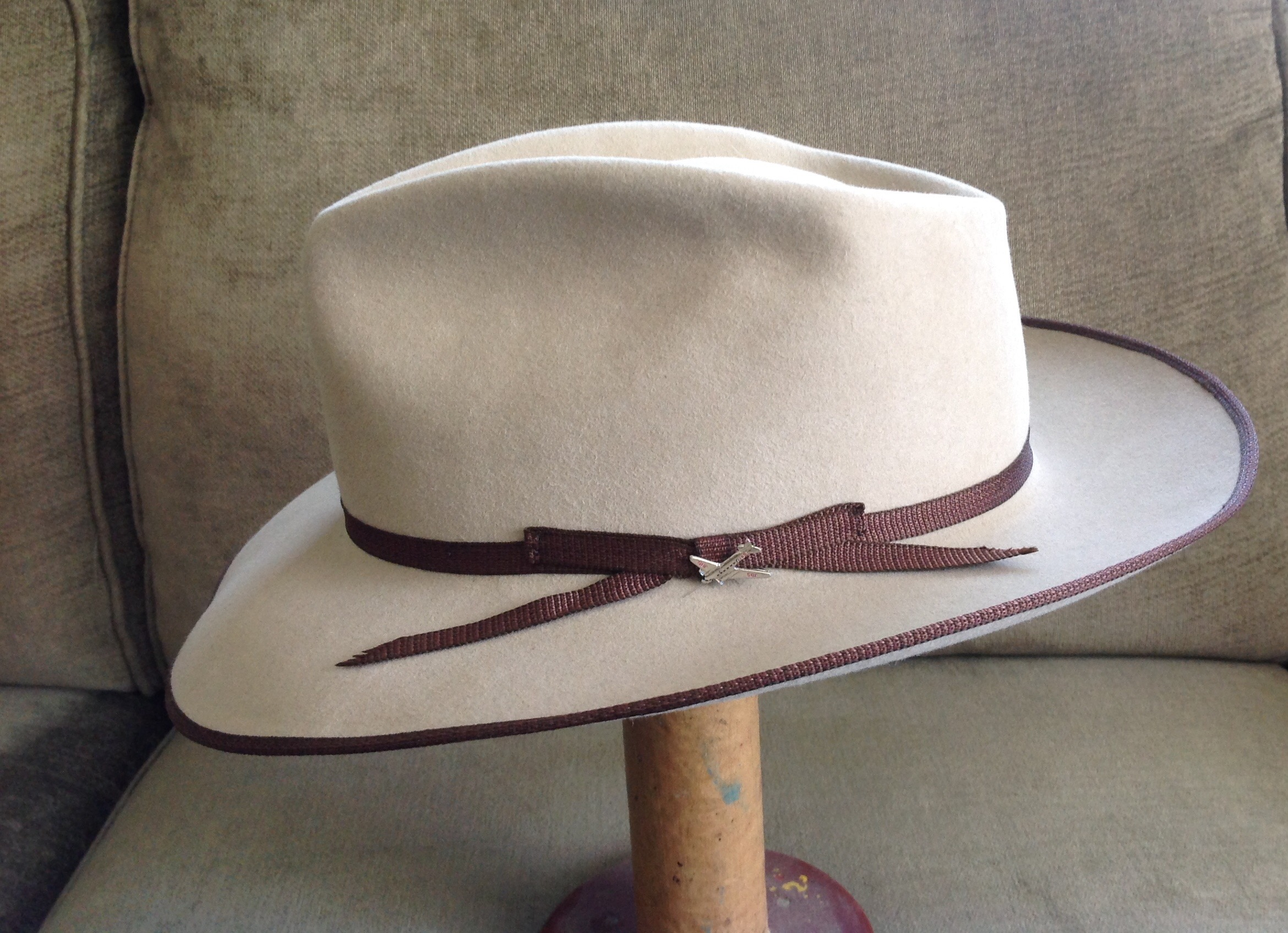 8b33b751e6032 FS  Stetson Stratoliner Special Edition Royal Quality. Size 7-5 8 ...