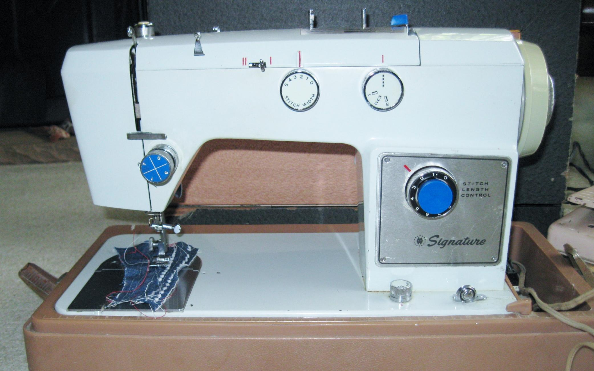 Anybody Else Collect Sewing Machines Page 10 The Fedora Lounge Necchi Supernova Machine Threading Diagram Vintage Thread Gallery 3