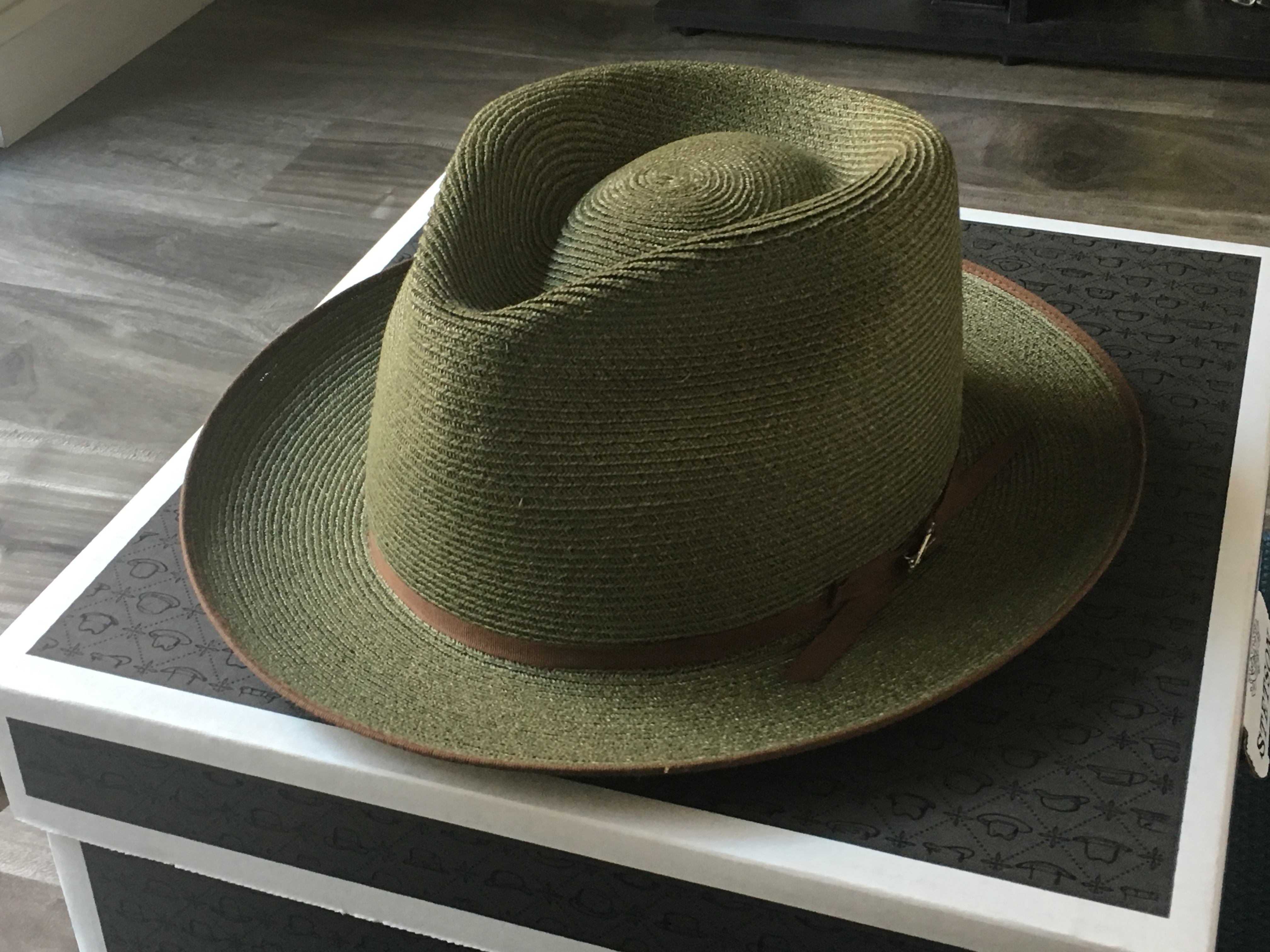 d8ee49d2a FS: Hemp Stetson Stratoliner, Special Edition 7 5/8   The Fedora Lounge