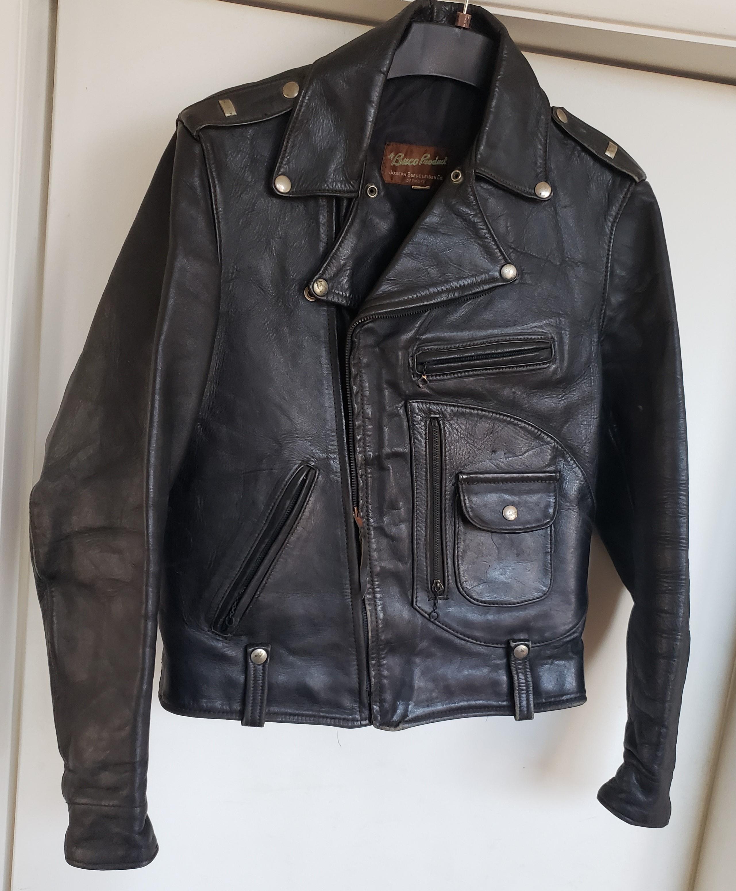 Vintage Buco Jacket 1940 S Label J 24 Style Age Value Help Value The Fedora Lounge Stylish Mens Outfits Leather Jacket Mens Fashion [ 3101 x 2562 Pixel ]