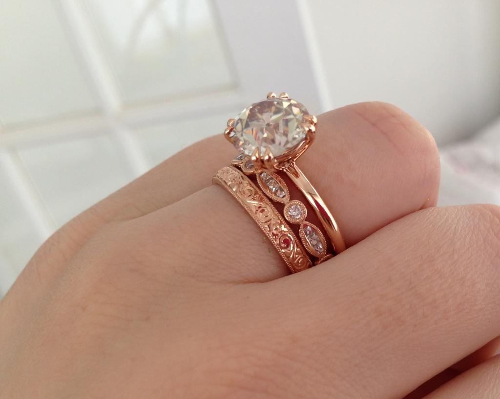 page 5 shane company wedding bands Show us your vintage vintage inspired Engagement Ring