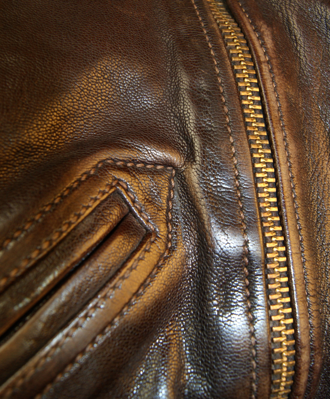 Thedi 127920 Shearling Washed Goatskin front zipper.jpg