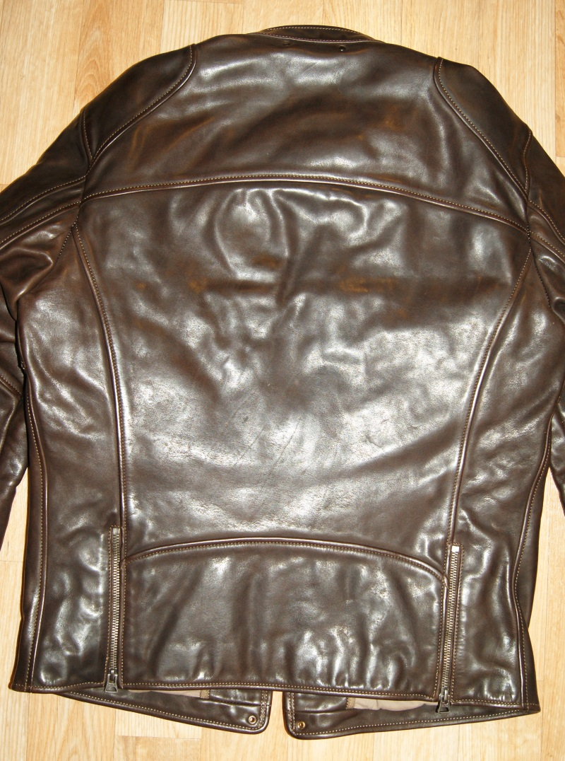 Thedi Cafe Racer Brown Cowhide back.jpg