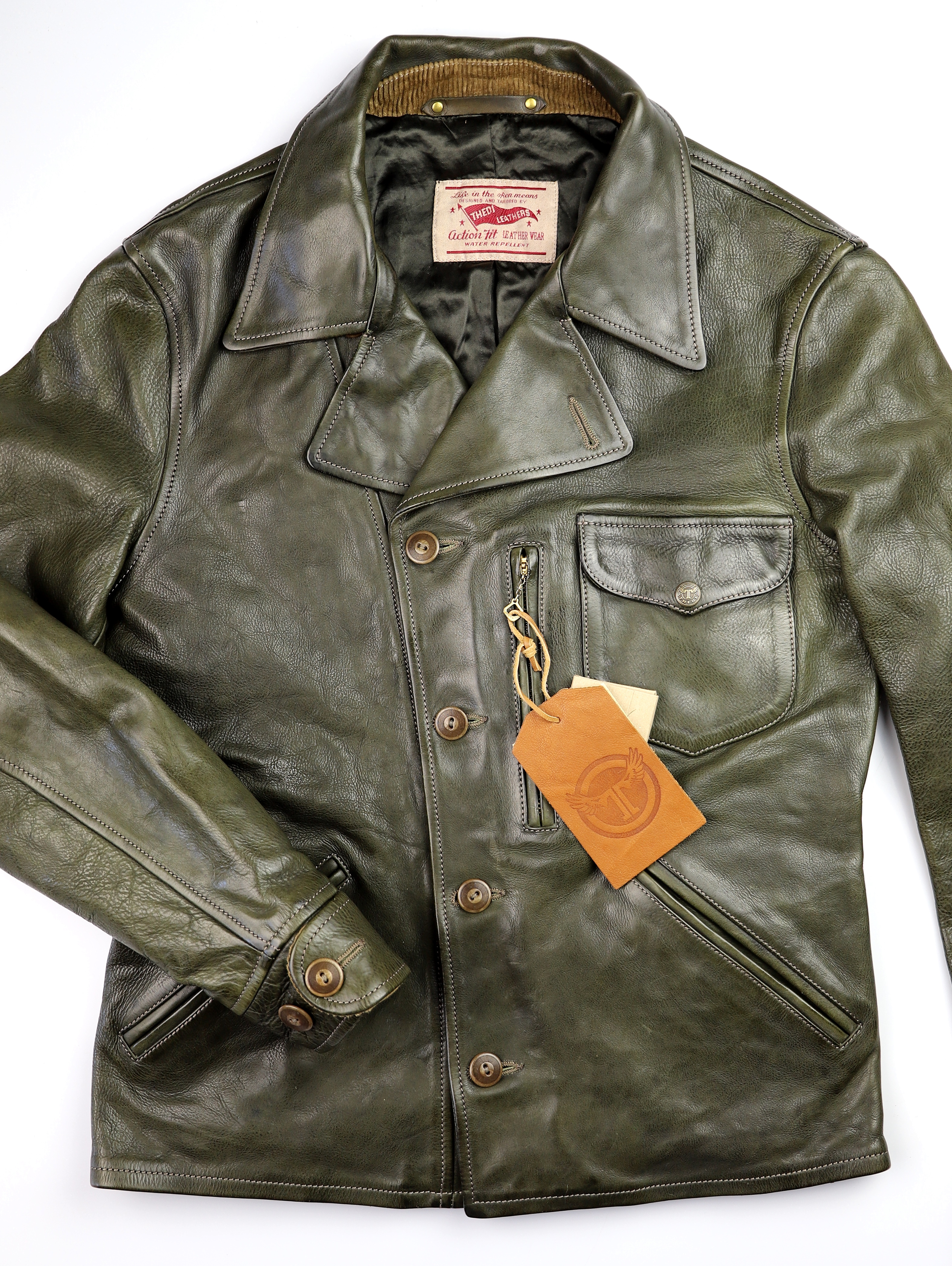 Thedi Hektor Green Cowhide front.jpg