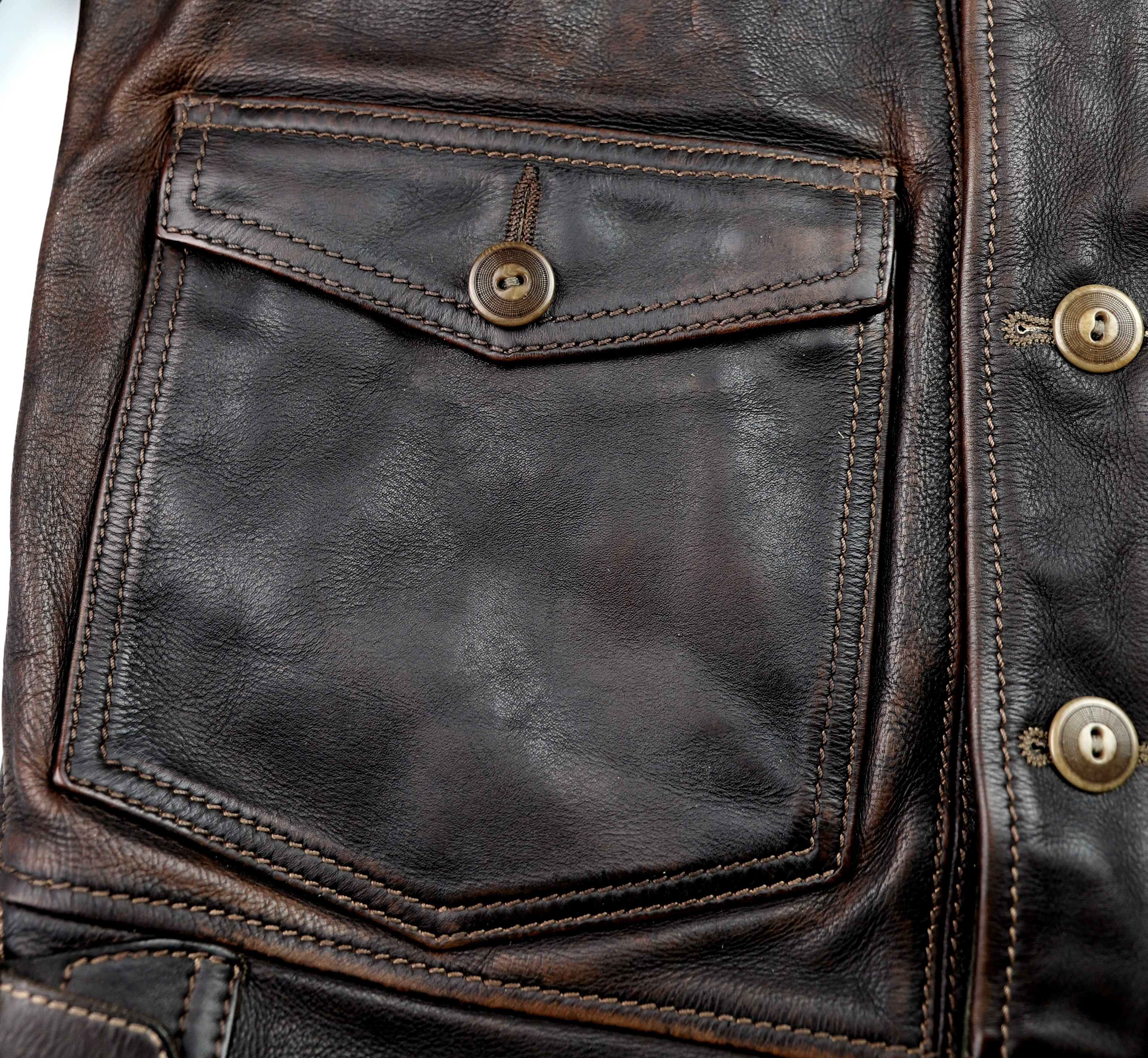 Thedi Niko Button-Up Hand-Dyed Brown Cowhide JG1 patch pocket.jpg