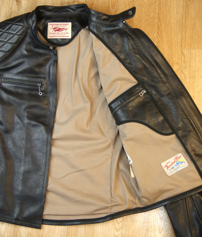 Thedi Phenix Black Buffalo THP19 tan cotton lining.jpg