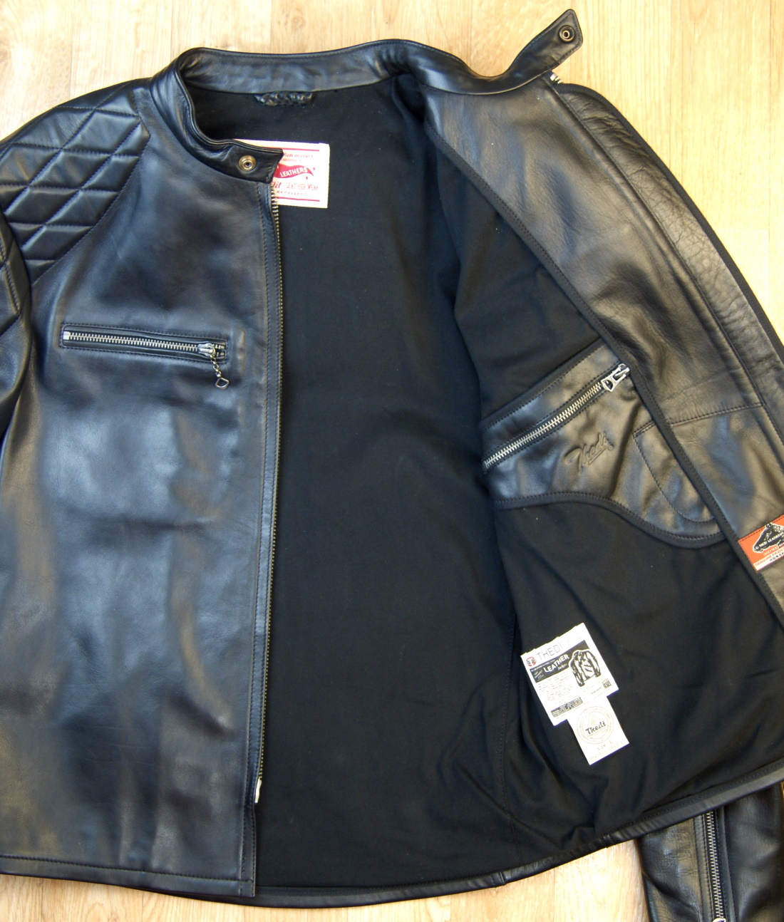 Thedi Phenix Black Horsehide THP15 black cotton lining.jpg