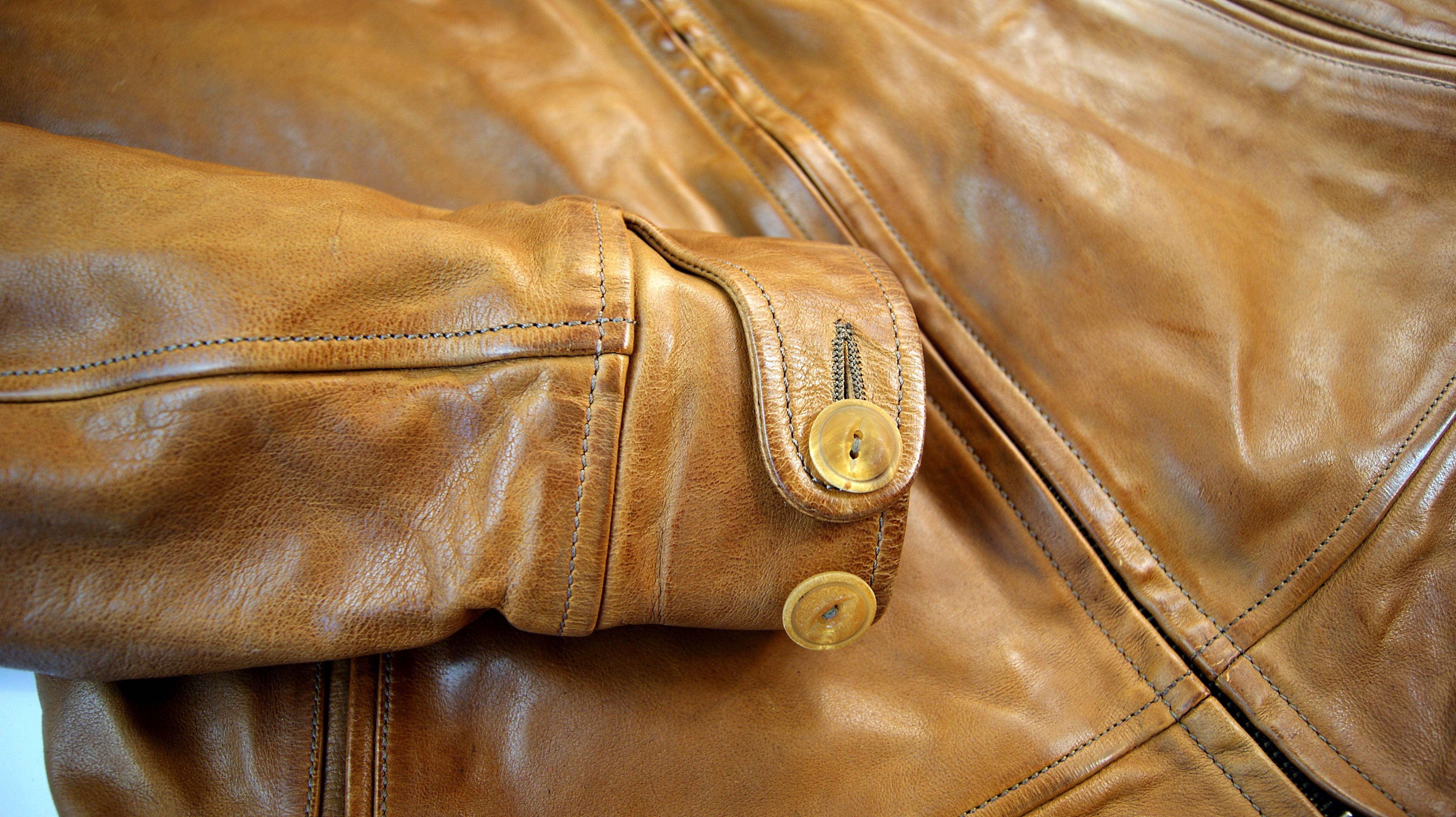 Thedi Shawl Collar Zip Up Cuoio BM8 Cuff.jpg